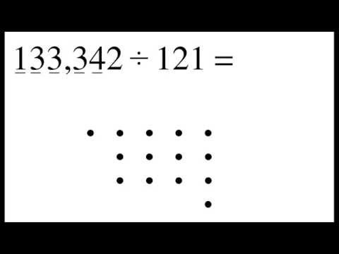 Divide Numbers By Connecting The Dots (видео)