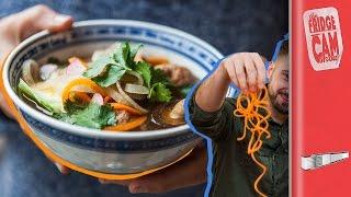 Chinese Spiralized 'Noodle' Recipe | FridgeCam by SORTEDfood