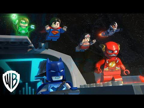 "LEGO® DC Comics Super Heroes: Justice League: Cosmic Clash - Clip - ""Earth Has A Firewall"""