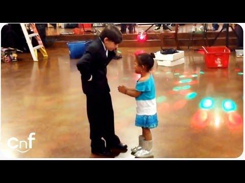 HILAROUS Jealous Little Girl   Dancing Boy Is Ladies' Man (видео)