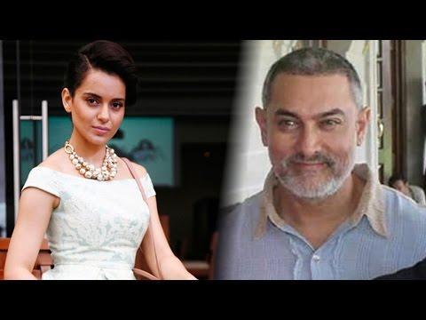 Kangana Ranaut Denies Working With Aamir Khan