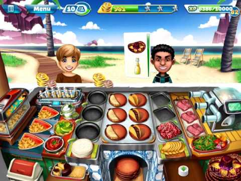 【Cooking Fever】Cafe Mexicana Level 40 (3 Stars)