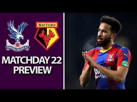 Video: Crystal Palace v. Watford | PREMIER LEAGUE MATCH PREVIEW | 1/12/19 | NBC Sports