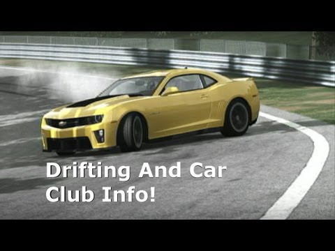 Forza 4 Nurburgring Drift Practice And Car Club Info