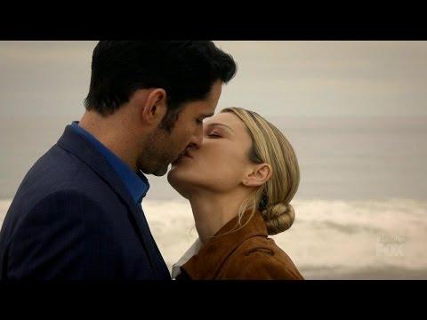 Lucifer 2x11 Ending  Lucifer and Chloe Kiss Season 2 Episode 11