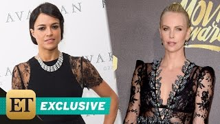 Nonton EXCLUSIVE: Michelle Rodriguez Says Charlize Theron in 'Fast 8' Is the 'Most Powerful Villain' Yet Film Subtitle Indonesia Streaming Movie Download