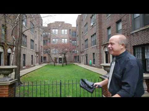 Upgraded apartments in a Lakeview East courtyard