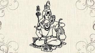 Shiv ji - How to draw Lord Shiva