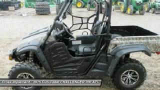 7. 2015 Cub Cadet CHALLENGER 700 Minier, Springfield, Bloomington, and Peoria, IL