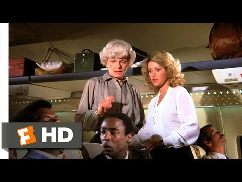 airplane - Airplane! Movie Clip - watch all clips http://j.mp/wsAF7J click to subscribe http://j.mp/sNDUs5 When a flight attendant struggles to understand her jive-talk...