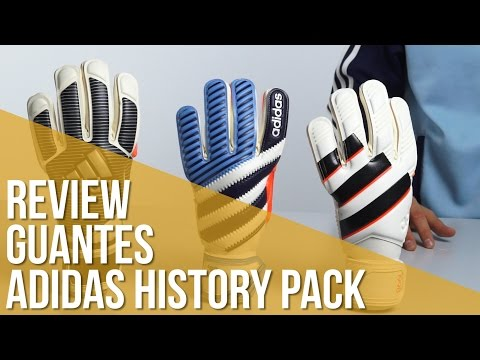 Review Guantes Adidas History Pack