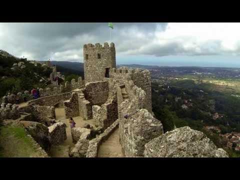 Castelo dos Mouros, Sintra, Portugal (видео)