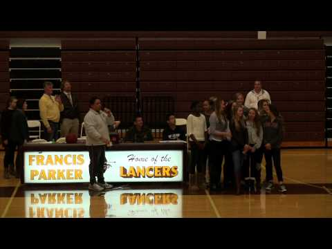 francis parker girls volleyball state banner