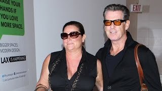 Pierce Brosnan And Wife Keely Shaye Smith Are A Class Act Through LAX