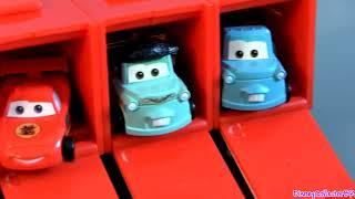 Video Build Mack Truck Hauler Tomica Takara Tomy Toys from Japan Disney Pixar Cars toys MP3, 3GP, MP4, WEBM, AVI, FLV Juni 2018