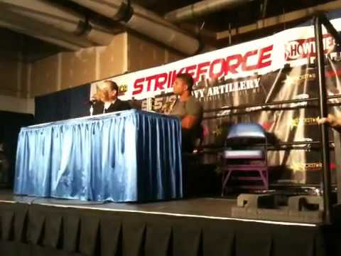 Alistair Overeem Strikeforce St Louis Post Press Conference