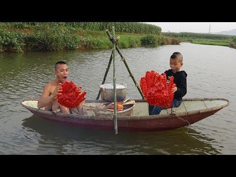 Lần Đầu Ăn Cua Mẫu Hậu Trên Du Thuyền - Mao Đệ Chèo Thuyền Hơn Cả Vận Động Viên - Thời lượng: 34:52.