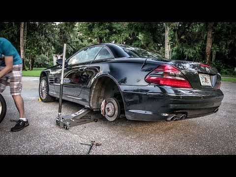 WHY WON'T THESE STUPID WHEELS FIT?!! - Project Mercedes-Benz S-Class Pt 15