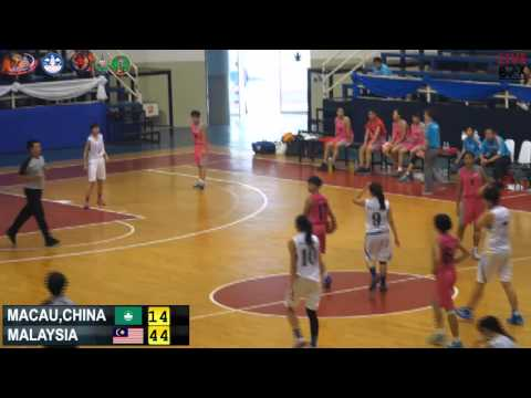 MALAYSIA VS MACAU,CHINA 6 March 2015