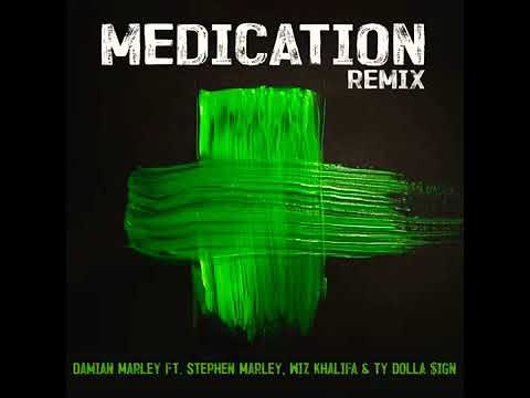 Video Medication Remix - Wiz Khalifa, Ty Dolla Sign, Damian Marley & Stephen Marley [Audio] download in MP3, 3GP, MP4, WEBM, AVI, FLV January 2017