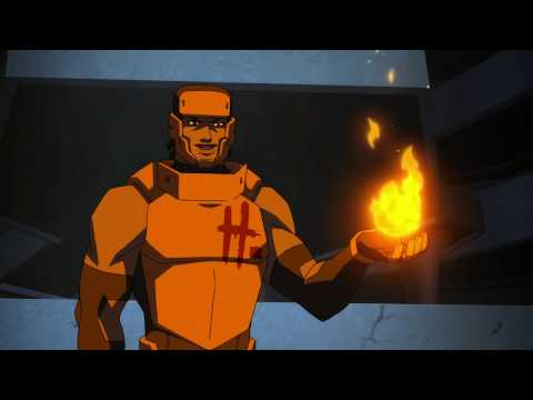 Young Justice   Team rescues Tara