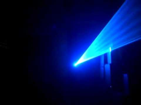 Đèn laser 7 màu RGB 1w siêu mạnh cho quán Cafe - bar