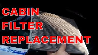 "For this video I am going to show you how to change your cabin air filter.  My vehicle is a 2012 GMC Terrain, the process should be identical on any year Terrain and any Chevy Equinox.  Most cars will be similar with the filter being found behind the glove box.Terrain / Equinox cabin filter - http://amzn.to/2usyuCG (affiliate)Website - http://www.struggleville.netAmazon Affiliate - http://amzn.to/1mWw3LveBay Affiliate - https://goo.gl/4FNz2CCoupons.com - http://struggleville.net/printable-couponsSwagbucks Affiliate - https://goo.gl/RjErCtSwagbucks Referral -  http://www.swagbucks.com/refer/StrugglevilleInstaGC - https://www.instagc.com/StrugglevillePrizeRebel - https://goo.gl/IBaLBaEarnably - https://goo.gl/iqcxlGGiftHulk - http://www.gifthulk.com/invite/PH880043End Screen Music:""Severe Tire Damage"" Kevin MacLeod (incompetech.com)Licensed under Creative Commons: By Attribution 3.0 Licensehttp://creativecommons.org/licenses/by/3.0/"