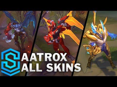 Hé lộ hình ảnh bộ kỹ năng mới và hiệu ứng các trang phục của Aatrox rework thumbnail