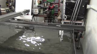CNC Plasma Cutting Table Water Table Build