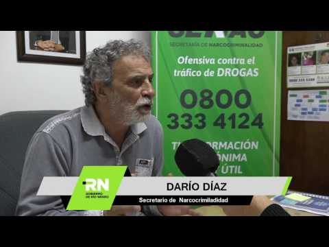Díaz - Desarrollo del programa 0800 drogas ha permitido la judicialización de 150 denuncias
