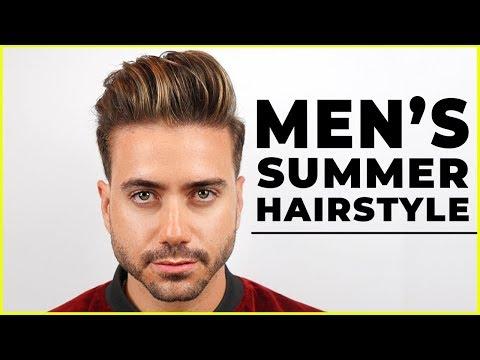 Mens hairstyles - MEN'S SUMMER HAIRSTYLE 2018  Best Men's Haircut Highlights  ALEX COSTA