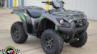 10. SALE $8,599:  2017 Kawasaki Brute Force 750 Special Edition Overview and Review
