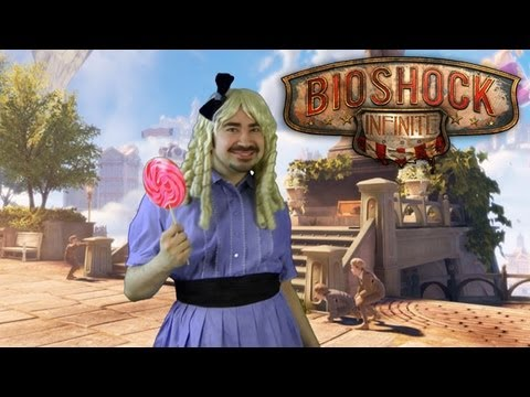 Review - For more Visit: http://angryjoeshow.com/2013/03/bioshock-infinite-angry-review/