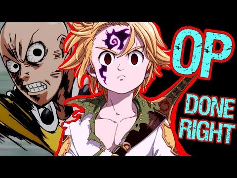 How to Write a Fun Overpowered Main Character - Meliodas from the Seven Deadly Sins
