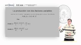 Microeconomía II - La Tecnología De Producción (5) - Alfonso Rosa García