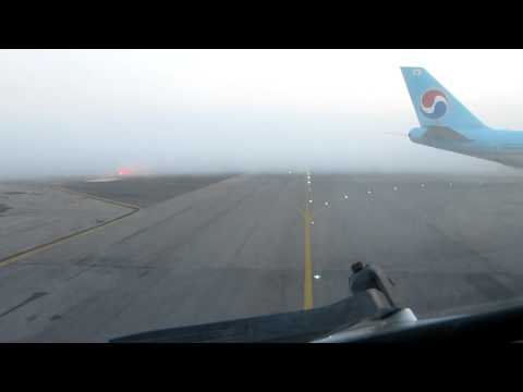 Boeing 767 Landing in Zero Visibility using Auto Land feature