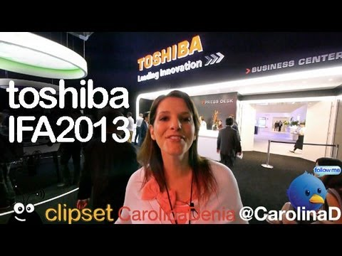 Toshiba Encore, Windows 8.1, Camileo X-Sports IFA2013 review