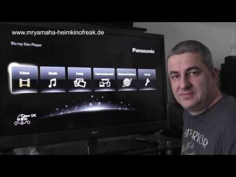 Video Review THX Bluray Player Panasonic BDT 700