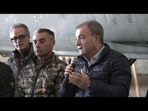 Pesatti: Entrega de aeronave Mirage ya reensamblada por técnicos de la VI Brigada Aérea de Tandil