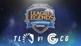 Video TL vs. CG - Week 2 Day 2 | NA LCS Spring Split | Team Liquid vs. Clutch Gaming(2018) MP3, 3GP, MP4, WEBM, AVI, FLV Juni 2018