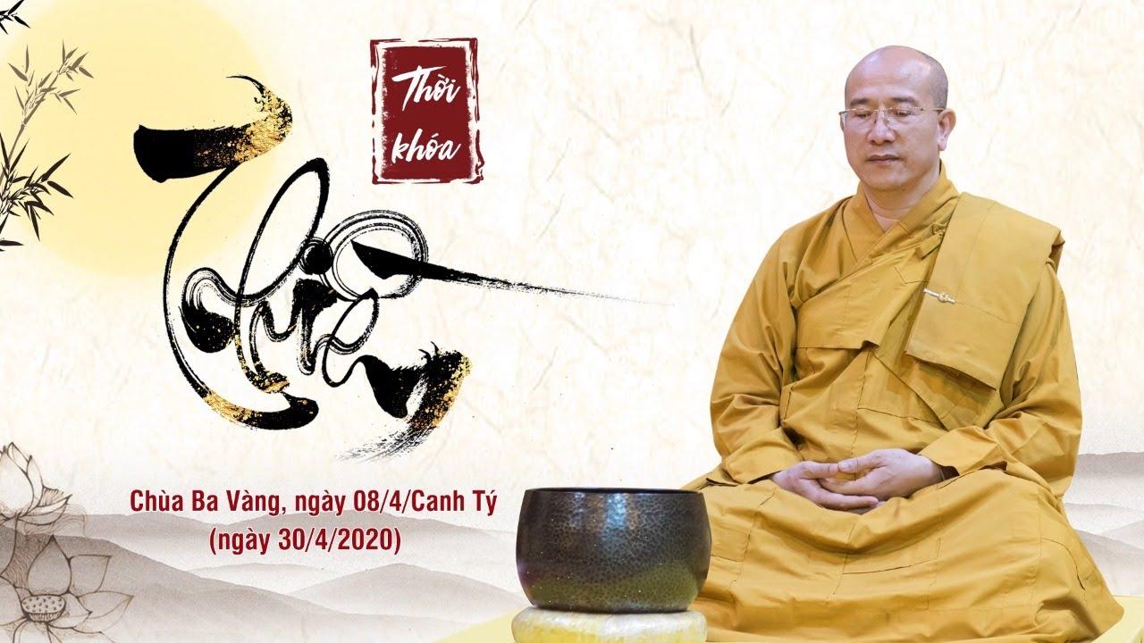 Thời khóa tọa thiền – Chương trình trực tuyến Đại lễ Phật Đản 2020