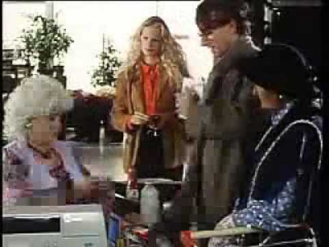 kosten - A 1990 TV spot from the German Federal Center for Health Education: A man buys condoms at the supermarket. The girl's name was changed from Rita to Tina in o...