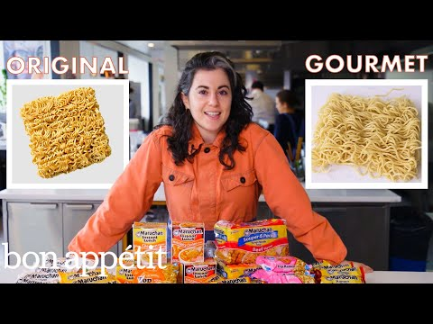 Pastry Chef Attempts to Make Gourmet Instant Ramen  Gourmet Makes  Bon Appétit