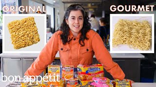 Video Pastry Chef Attempts to Make Gourmet Instant Ramen | Gourmet Makes | Bon Appétit MP3, 3GP, MP4, WEBM, AVI, FLV Desember 2018
