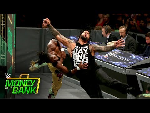The Usos vs. The New Day - SmackDown Tag Team Title Match: WWE Money in the Bank 2017 (WWE Network) (видео)