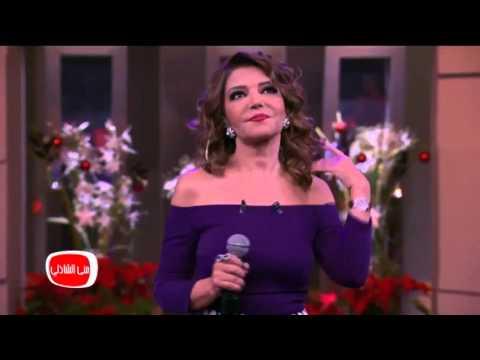 """سميرة سعيد تغني """"ع البال"""" في برنامج """"معكم"""""""