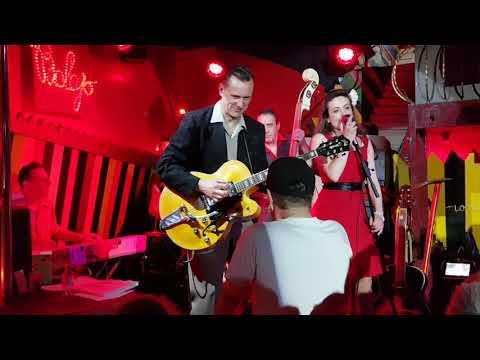 CORA LYNN & the Rhythm Snatchers - HONEY BOP et TWEEDLEE DEE dee - Balajo - 28/03/2018 (видео)