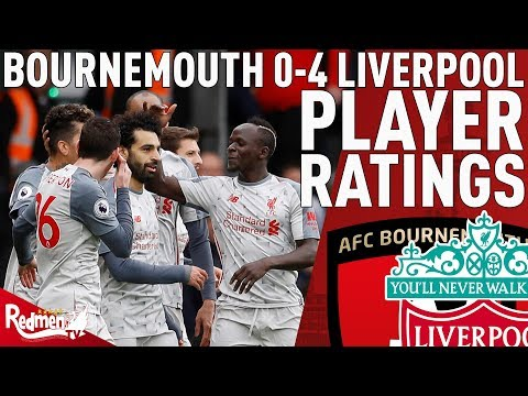 Mo Salah Is A Different Class! | Bournemouth V Liverpool 0-4 | Player Ratings