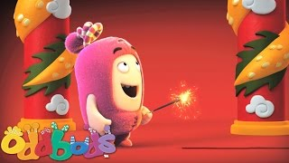 Oddbods | Chinese New Year Fireworks