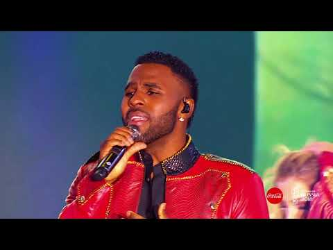 Jason Derulo Performs Colors, The Coca-Cola Anthem For The 2018 FIFA World Cup